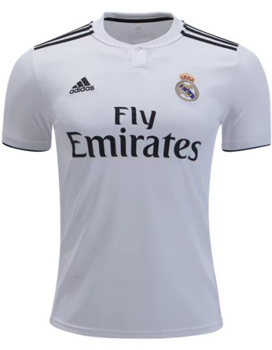 jersey madrid home 2018-2019 terbaru