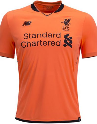 Liverpool Fc 2017-2018 New Balance Third Kit