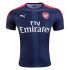 Jersey Arsenal Navy Prematch 2017 Terbaru