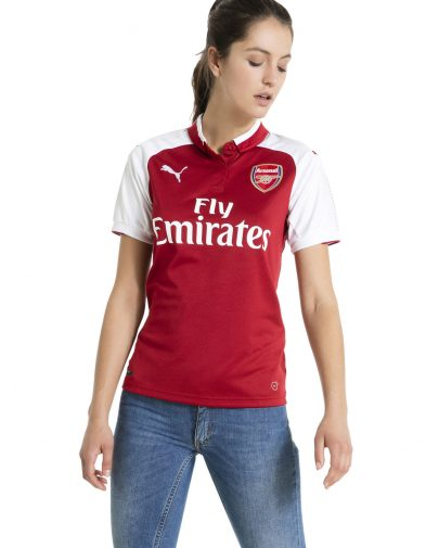 Jersey Wanita Arsenal Home 2017-2018 Terbaru | Replika Top Quality