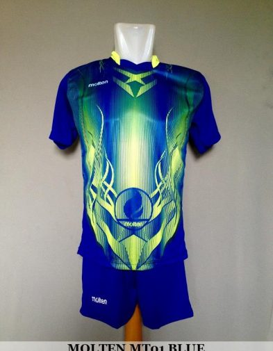 Setelan Volley Molten MT01 Blue