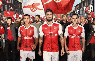 JUAL JERSEY ARSENAL 2017