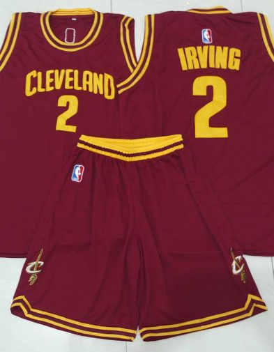 Jersey Basket NBA Irving Cleveland Cavaliers Maroon