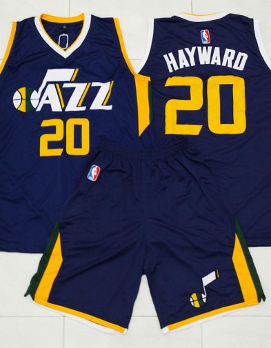 Setelan Jersey NBA Utah Jazz Gordon Hayward
