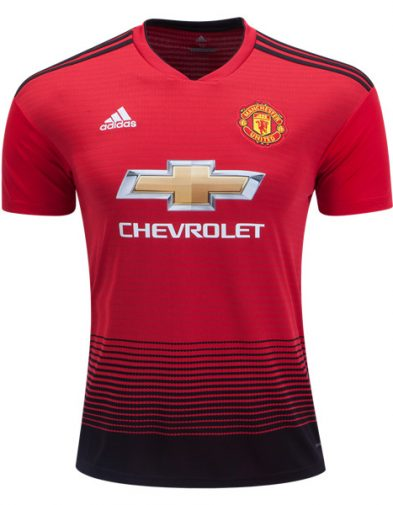 buy popular b4a6e 43021 Jersey Manchester United Terbaru 2018-2019 Home | Replika Top Quality