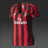 Jersey Ladies AC Milan Home 2017-2018 Terbaru | Replika Top Quality