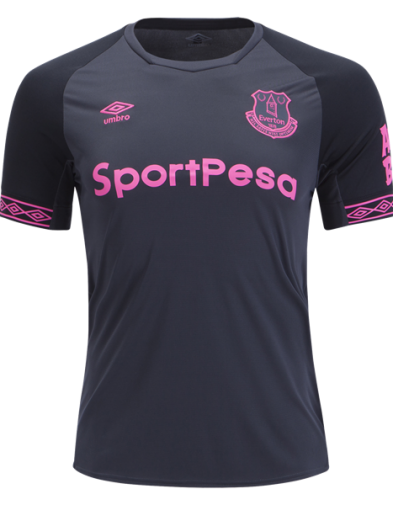 Jersey Everton Away 2018-2019 Terbaru | Replika Top Quality
