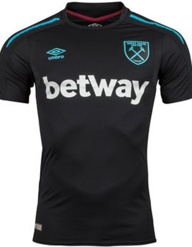 Jersey GO Westham United Away 2017-2018 (1)