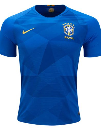 Jersey Brazil Away Piala Dunia 2018 | Replika Top Quality