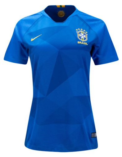 Jersey Wanita Brazil Away Piala Dunia 2018 | Replika Top Quality