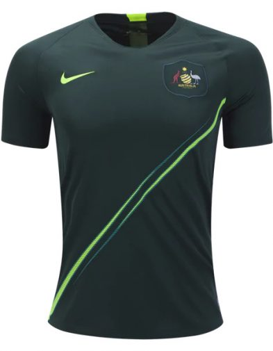 Jersey Australia Away Piala Dunia 2018 | Replika Top Quality