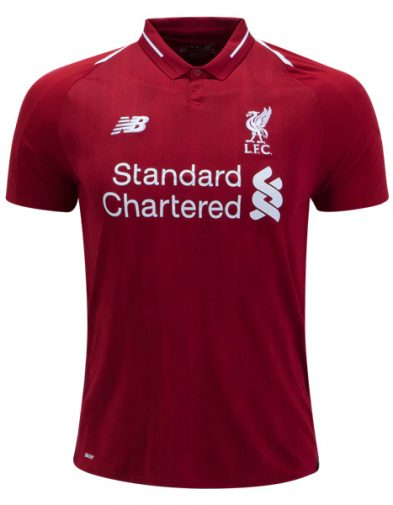 Jersey Liverpool Home 2018-2019 Terbaru | Replika Top Quality