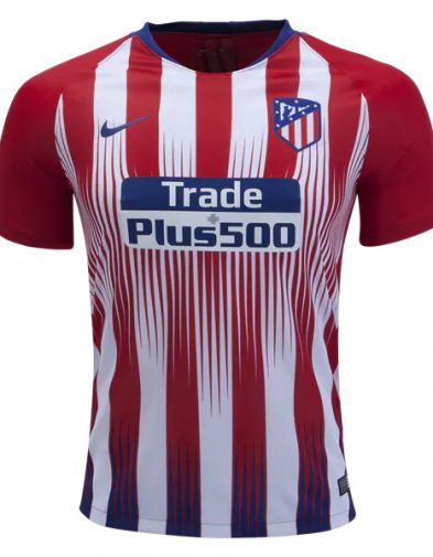 Jersey Atletico Madrid Home 2018-2019 Terbaru | Replika Top Quality
