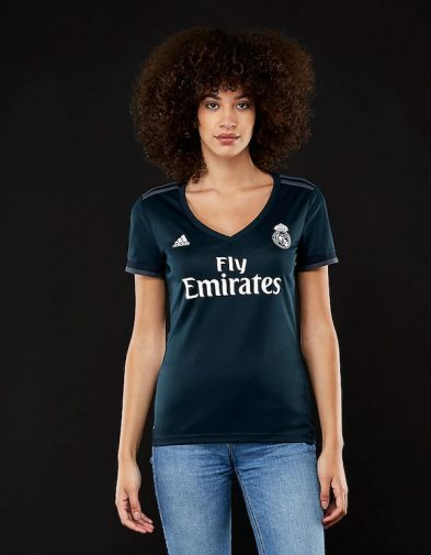 Jersey Wanita Real Madrid Away 2018-2019 Terbaru | Replika Top Quality