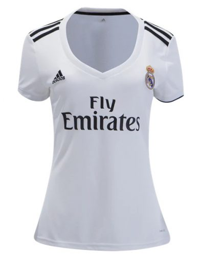 Jersey Wanita Real Madrid Home 2018-2019 Terbaru | Replika Top Quality