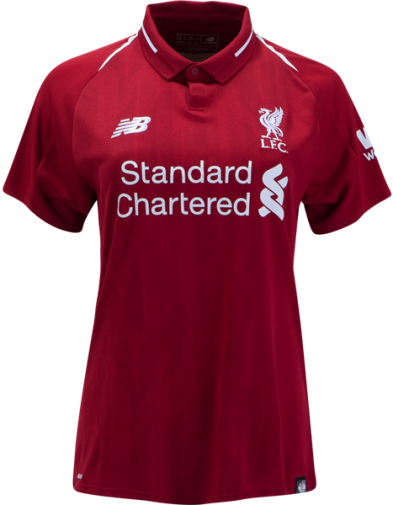 Jersey Wanita Liverpool Home 2018-2019 Terbaru | Replika Top Quality