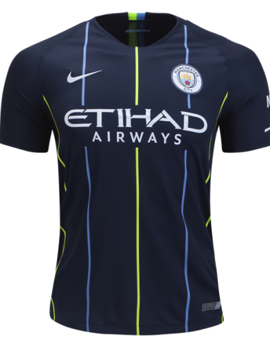 Jersey Manchester City Away 2018 2019 Terbaru | Replika Top Quality