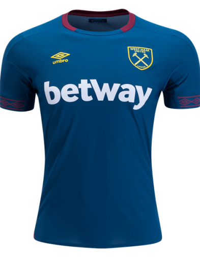 Jersey West Ham United Away 2018-2019 Terbaru | REPLIKA TOP QUALITY