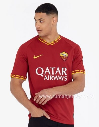 Jersey AS Roma Home 2019-2020 Terbaru | Replika Top Quality
