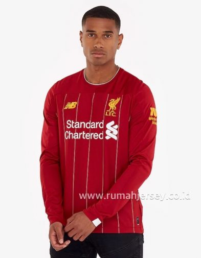 Jersey Liverpool Home Longsleeve 2019-2020 Terbaru | Replika Top Quality