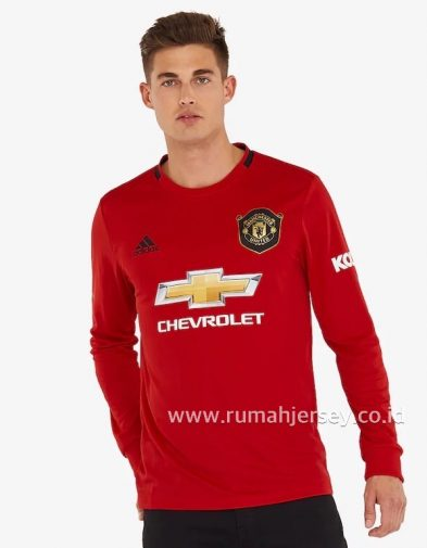 Jersey Manchester United Home Longsleeve 2019-2020 Terbaru | Replika Top Quality