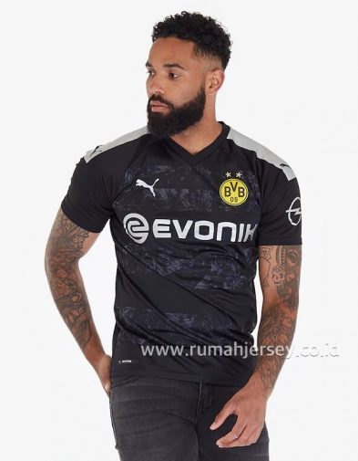 Jersey Dortmund Away 2019-2020 Terbaru | Replika Top Quality