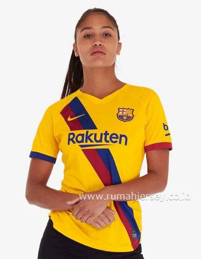 Jersey Ladies Barcelona Away 2019-2020 Terbaru