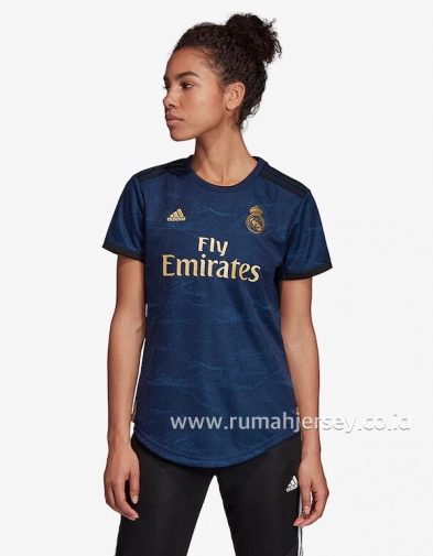 Jersey Ladies Real Madrid Away 2019-2020 Terbaru | Replika Top Quality