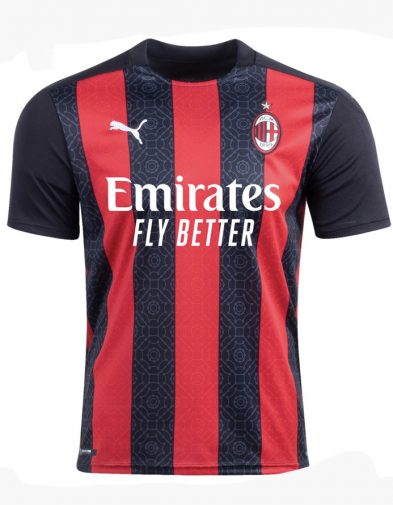 Jersey AC Milan Home 2020-2021 Terbaru | Replika Top Quality