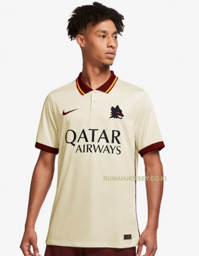 Jersey AS Roma Away 2020-2021 Terbaru | Replica Authentic